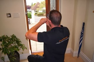 Local Keytek locksmith fixing a mortice lock