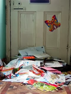 Leaving mail to pile up can be a security risk