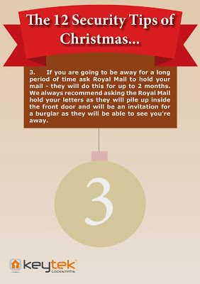 Tip 3 Keytek Locksmiths 12 Security Tips of Christmas