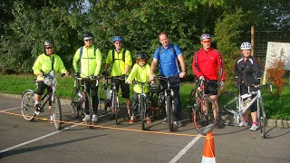 Keytek locksmiths take part in the Glastonbury Bike Ride 2013