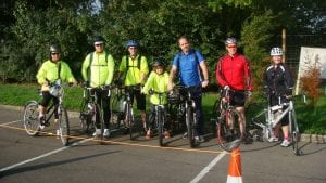 Keytek locksmiths take on Glastonbury Bike Ride for British Heart Foundation