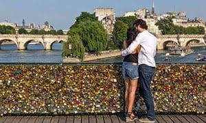 Leave a love lock on a bridge this Valentines Day