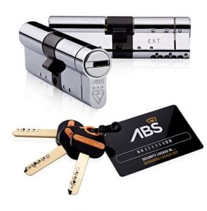 Call a local locksmith to upgrade your locks to ABS