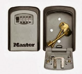 Keytek locksmiths fits Masterlock Key Safes