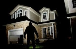 External home security lighting
