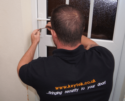 Keytek locksmiths are uPVC specialists