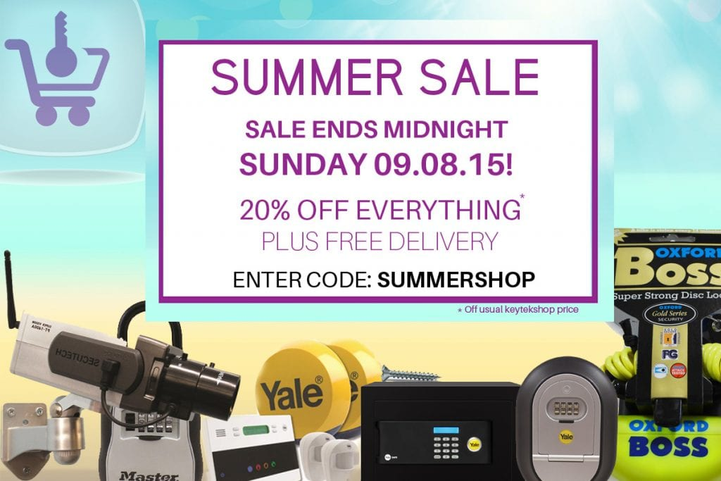 KeytekShop Summer Sale ends Sunday Image