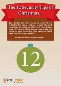 Tip 9 of The 12 Security Tips of Christmas