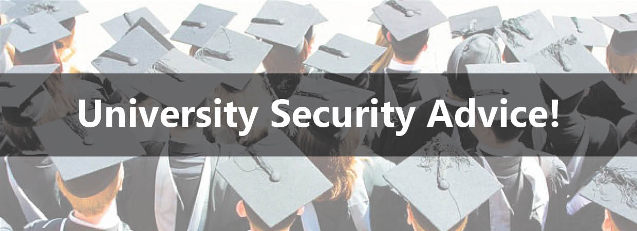 Keytek University Security Advice