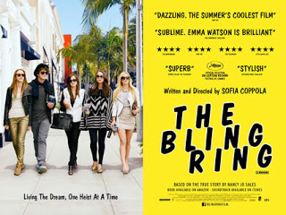 Movie poster for The Bling Ring
