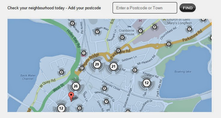check crime levels in your local area for your home security
